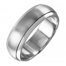 Wholesale Stainless Steel Spinner Ring - SRN070