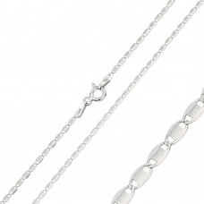 Wholesale Sterling Silver 925 Rhodium Plated Confetti 030 Chain 1.6mm - CH118 RH