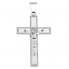 Wholesale Sterling Silver 925 Latin Cross Pendant - BSP00025