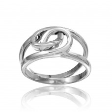 Wholesale Sterling Silver 925 High Polished Linked Rings - CR00730