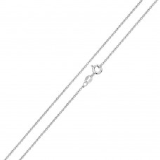 Wholesale Sterling Silver 925 Shinny Diamond Cut Anchor 040 Chain 1.6mm - CH714
