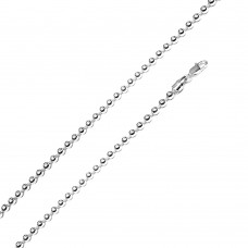 Wholesale Sterling Silver 925 High Polished Bead 400 Chain 4mm - CH509