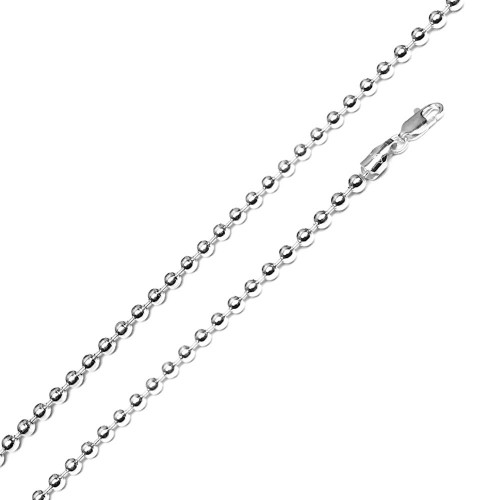 Wholesale Sterling Silver 925 High Polished Bead 500 Chain 5mm - CH510