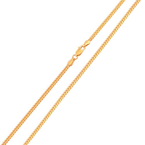 Wholesale Sterling Silver 925 Rose Gold Plated Miami Cuban Curb 060 Chain 1.8mm - CH145 RGP