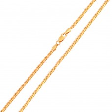 Wholesale Sterling Silver 925 Rose Gold Plated Miami Curb 080 Chain 2.6mm - CH146 RGP
