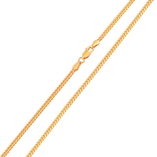 Wholesale Sterling Silver 925 Rose Gold Plated Miami Cuban Curb 080 Chain 2.6mm - CH146 RGP
