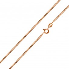 Wholesale Sterling Silver 925 Rose Gold Plated Box 019 Chain 1mm - CH158 RGP