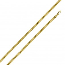 Sterling Silver Gold Plated Franco Chain 4.7MM - CHHW106 GP