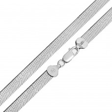 Wholesale Sterling Silver 925 High Polished Herring Bone 120 Chain 11mm - CH816