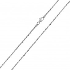 Wholesale Sterling Silver 925 High Polished Roc 025 Chain - CH512