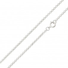 Wholesale Sterling Silver 925 High Polished Round Rolo 025 Chain 1.8mm - CH702