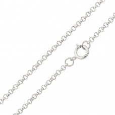Wholesale Sterling Silver 925 High Polished Round Rolo 035 Chain 2.3mm - CH704