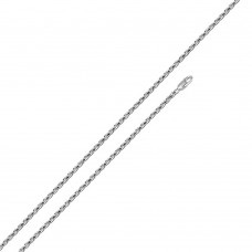Wholesale Sterling Silver 925 High Polished Rope Chain 1mm - CH521