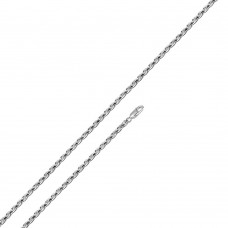 Wholesale Sterling Silver 925 Rhodium Plated Rope 035 Chain 1.6mm - CH303 RH