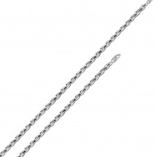 Wholesale Sterling Silver 925 High Polished Rope 050 Chain 2.2mm - CH525