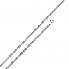 Wholesale Sterling Silver 925 High Polished Singapore 020 Chain 1.2mm - CH515
