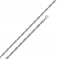 Wholesale Sterling Silver 925 High Polished Singapore 025 Chain 1.5mm - CH516