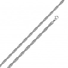 Wholesale Sterling Silver 925 High Polished Singapore 035 Chain 2mm - CH517