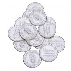 Wholesale Sterling Silver 925 Lady Guadalupe 13 Wedding Coins - JCA081-1