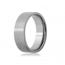 Wholesale Stainless Steel Engravable Band Comfort Fit 7mm - SRB016