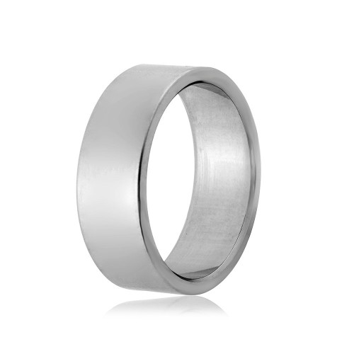 Wholesale Stainless Steel Flat Engravable Band - SRB057