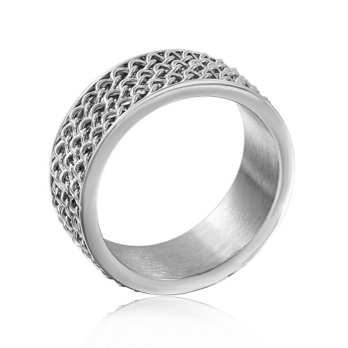 Wholesale Stainless Steel 3 Chained Band - SRB070