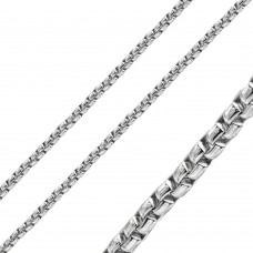 Stainless Steel Round Box Chain 3.8mm -  SSC039