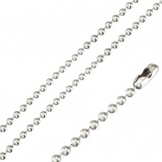 Stainless Steel Bead Chain 2mm - SSC051