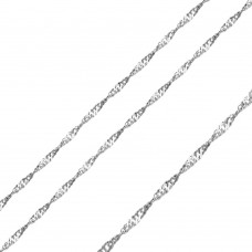Wholesale Stainless Steel Singapore Chain 3.3mm - SSC067
