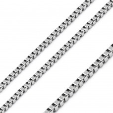 Wholesale Stainless Steel Box Chain 1.8mm - SSC077