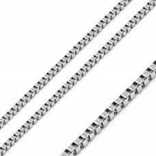 Stainless Steel Box Chain 1.4mm - SSC078
