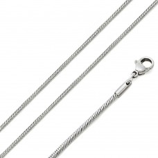 Stainless Steel Round Snake Chain 1.2mm - SSC079