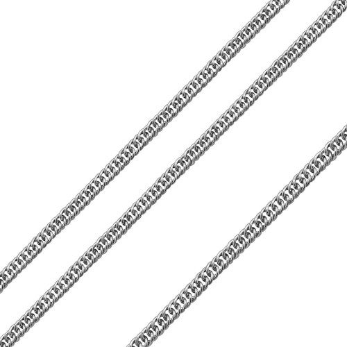 Wholesale Stainless Steel Twisted Double Link Chain 6.7mm - SSC080