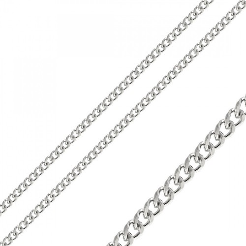 Wholesale Stainless Steel Curb Chain 5mm - SSC083