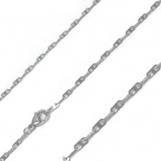 Stainless Steel Thin Flat Marina Link Chain 2mm - SSC092