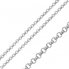 Wholesale Stainless Steel Rolo Chain 2.6mm - SSC038