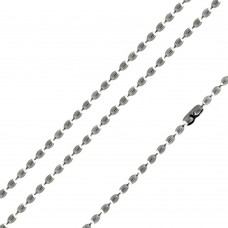Stainless Steel Oval Bead Link Chain - SSC004
