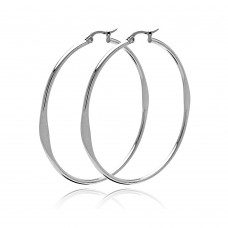 Wholesale Stainless Steel Hoop Earring - SSE00044