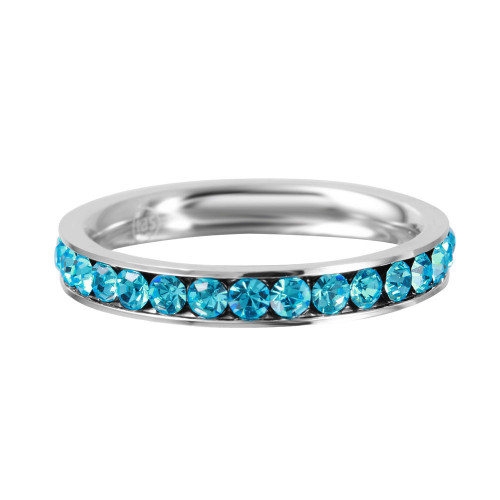 Wholesale Stainless Steel CZ Eternity Band December - SSR15DEC