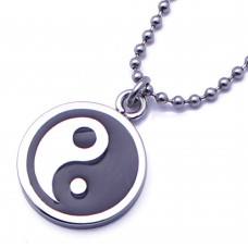 Wholesale Stainless Steel Yin Yang Pendant - SSP00444