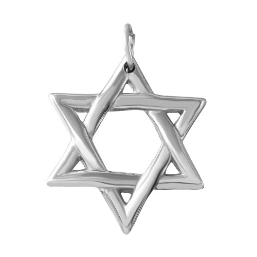 Wholesale Stainless Steel Small Star of David Charm Pendant - SSP00501
