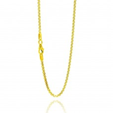 Wholesale Sterling Silver 925 Gold Plated Chain - BSM030-GP