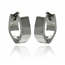 Wholesale Stainless Steel Hoop Earring - SSE00075