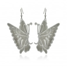 Wholesale Stainless Steel Butterfly Hook Earring - SSE00094