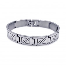 Wholesale Stainless Steel Triangle Bracelet - SSB00049