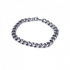 Wholesale Stainless Steel Curb Bracelet - SSB00123
