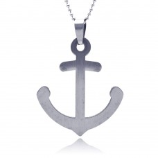 Stainless Steel Anchor Charm Pendant ssp00045