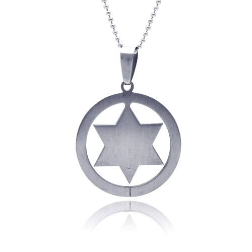 Wholesale Stainless Steel Star of David Charm Pendant - SSP00047