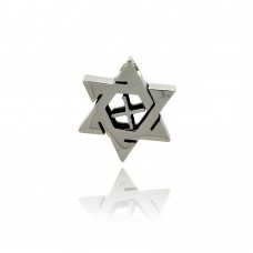 Wholesale Stainless Steel Star of David Charm Pendant - SSP00271