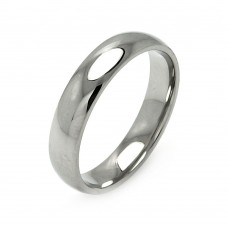 Wholesale Men's Stainless Steel Band Ring 5mm - SRB003